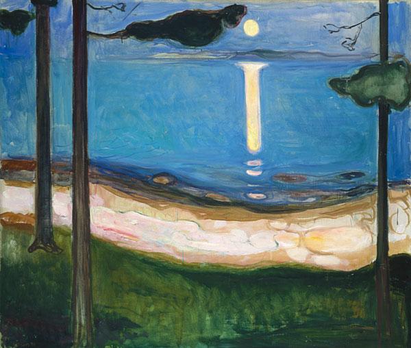 Edvard Munch (1863 - 1944). Clair de lune