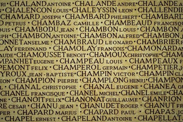Monument aux morts, par Damien Roué sur Flickr