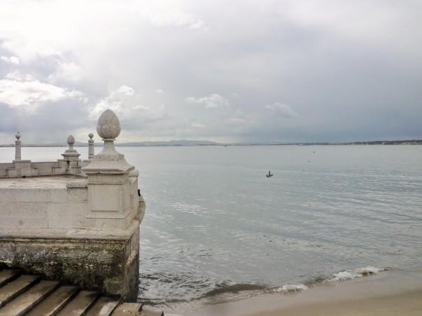Lisbonne, le Tage, 23 mars 2017.