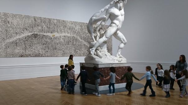 Rome (Italie). Galleria nazionale d'arte moderna e contemporanea, mars 2018